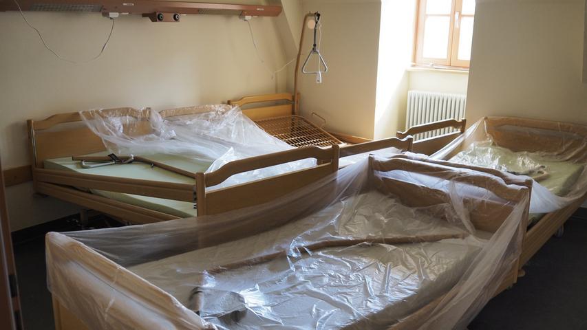 Stadtkrankenhaus Treuchtlingen nach der Schließung Foto: Benjamin Huck