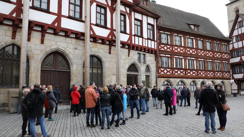 Forchheim: Sensationelle Grabungsfunde im Rathaus