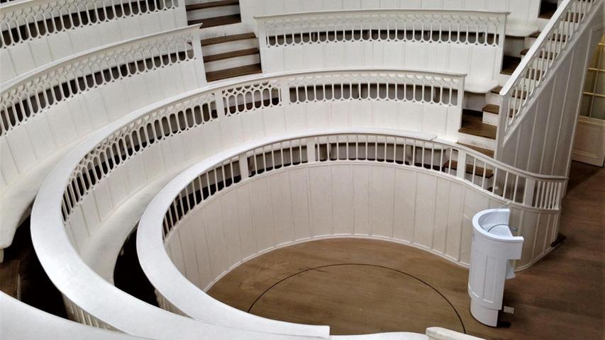 Trichinentempel: in der Mitte des Theaters fuhr ein Aufzug tote Pferde in den Hörsaal.  Mehr persönliche Lieblingsorte von unserem Berlin-Korrespondent Harald Baumer.