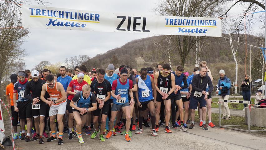 Frühjahrslauf ESV Treuchtlingen Start Hauptlauf Foto: Benjamin Huck