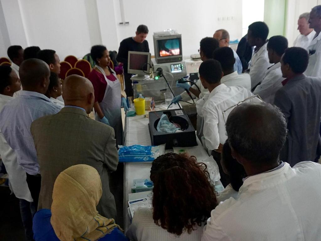 Dieses Bild stammt von einem Gastroworkshop im Jahr 2016. Im kommenden Jahr, so hofft der Hilfsverein, werde in Asmara die medizinische Infrastruktur aufgebaut werden können. German Eritrean Training Partnership