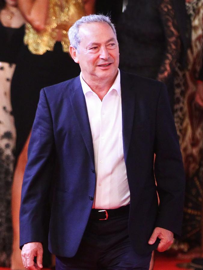 Samih Sawiris beim internationalen Filmfestival von El Gouna. Diese Kulturveranstaltung findet seit 2017 jährlich statt.