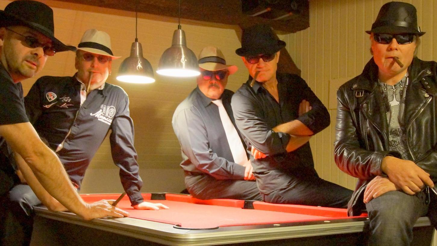 Die fünf Musiker der Franggn Mafia sind Garanten für gute Stimmung.