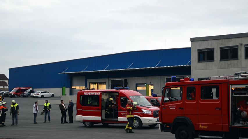 Für das neue BEKA-Werk in Wannberg gibt es einen ausgeklügelten Feuerwehr-Alarmplan.