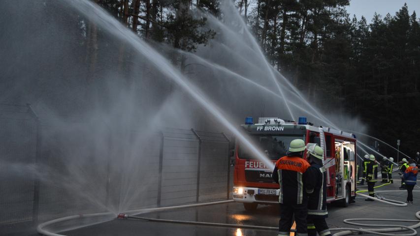 Super-Hydrant garantiert den Feuerschutz für neues BEKA-Werk