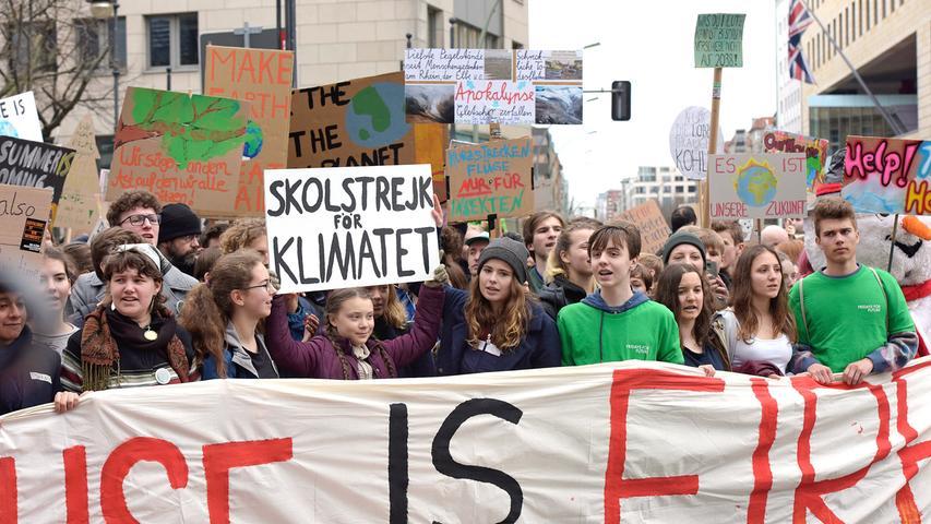 Fridays For Future: Berlin demonstriert mit Greta Thunberg