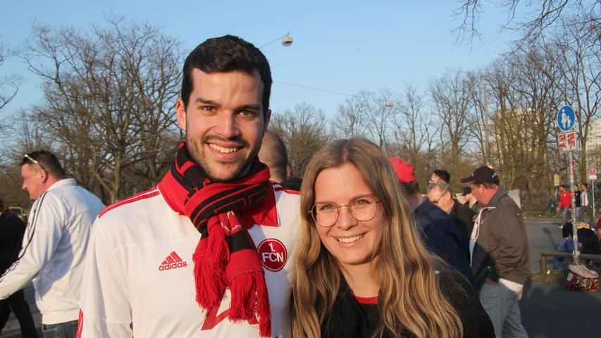 Der 1. FC Nürnberg hat Benjamin Aifi und Lena Christl überrascht: