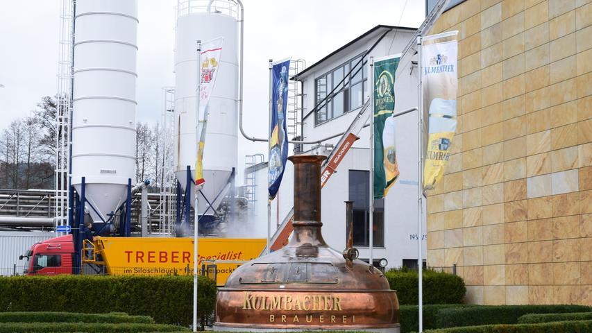Die Kulmbacher Brauerei AG gehört zu den großen Bierproduzenten in Bayern.