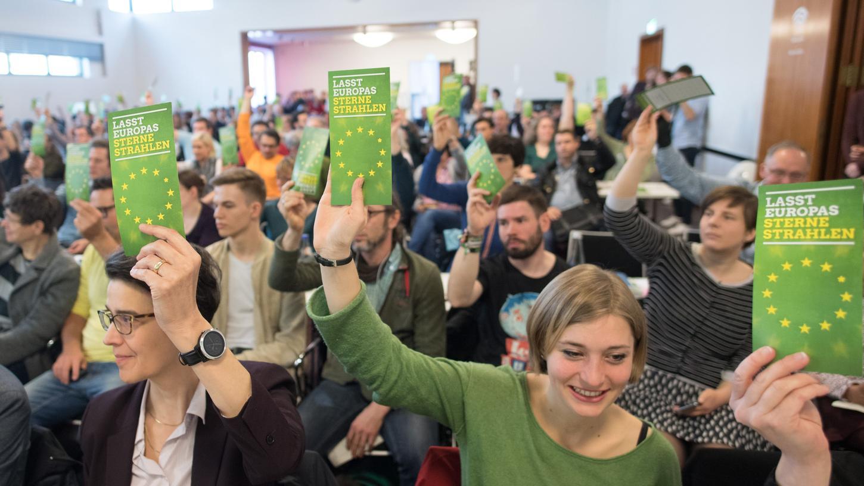 Die Zustimmung für die Grünen ist im ZDF-