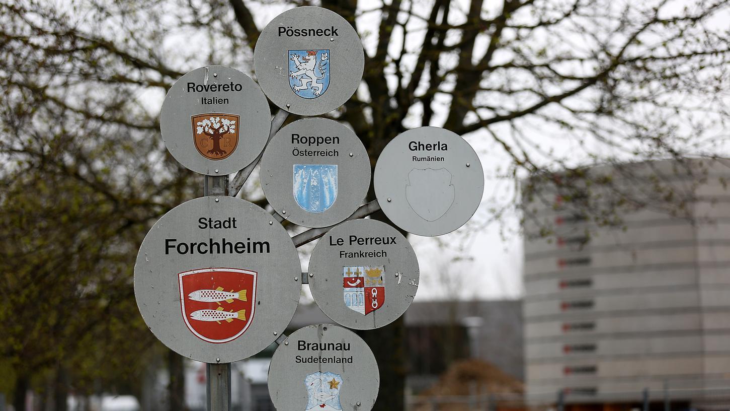 Forchheim und seine Städtepartnerschaften.