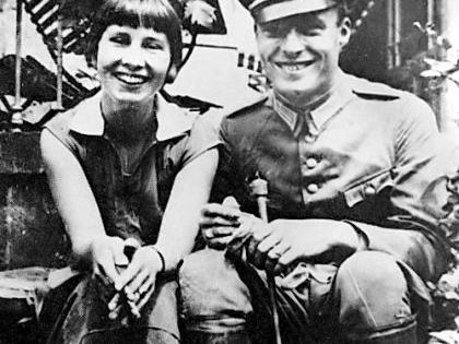 Glückliche Zeit in Bamberg: Das Foto zeigt Stauffenberg 1931 mit der fränkischen Freiin von Lerchenfeld, die er zwei Jahre später heiratete.