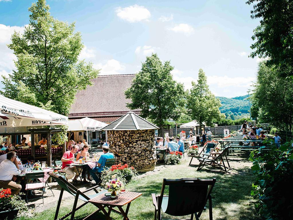 Wiesent Biergarten Ebermannstadt