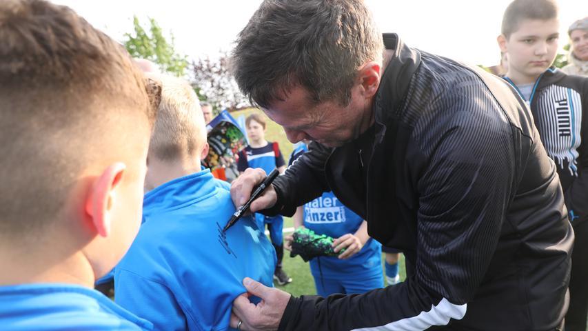 Weltmeister in der Heimat: Lothar Matthäus überrascht seinen FCH