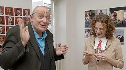 Nicole Boroski im Gespräch mit dem Nürnberger Künstler Thomas Lunz.