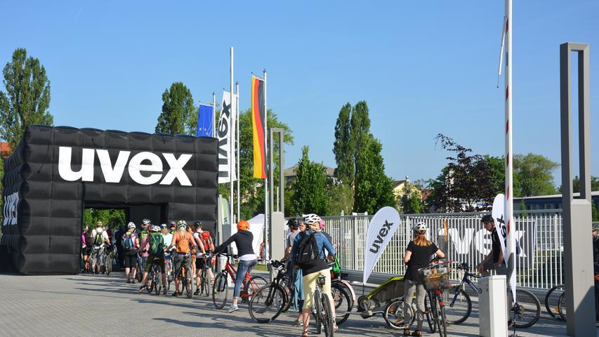 Besonders herausragende Noten erhielt Uvex aus Fürth in der Kategorie