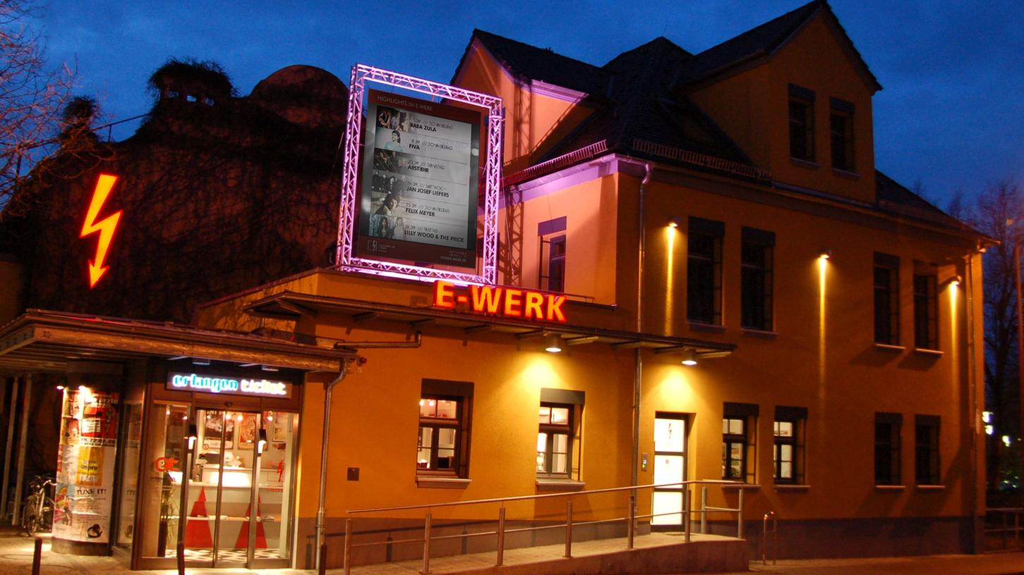 Das Kulturzentrum E-Werk in Erlangen