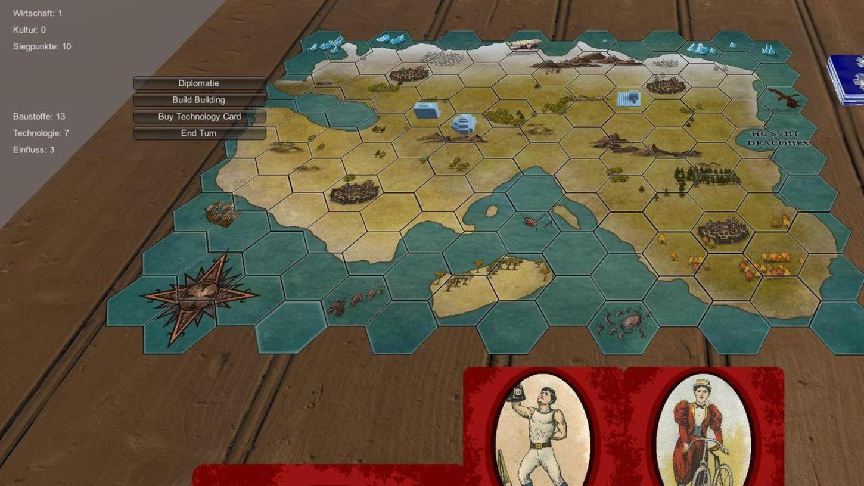 Mit Hilfe von alten Spielkarten aus dem Spear-Archiv wurde das Online-Brettspiel-Projekt
