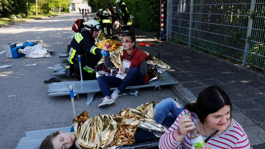 Ausnahmezustand am Hafen: Nürnberg übt den Katastrophenfall