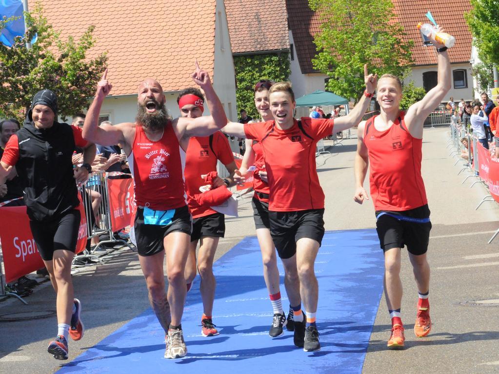 Foto: Mathias Hochreuther Motiv: Laufsport, 35. Altmühlfrankenlauf, Landkreislauf, Start und Ziel in Gräfensteinberg Datum: 5/19 Karl-Heinz Oberhuber