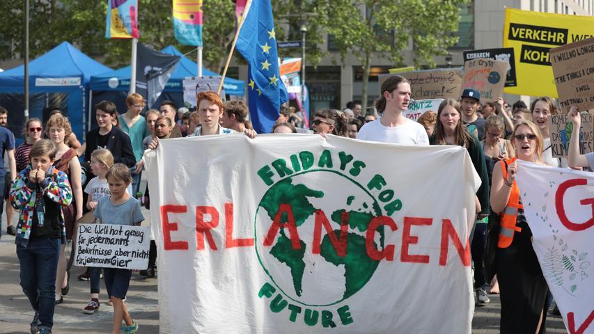 Campen für die Umwelt: Erlanger FFF-Demo mit Zeltstadt und Programm