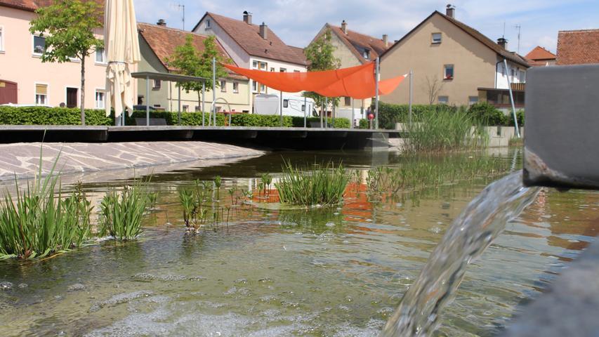 Der Sonnenuhrenpark liegt auf dem Weg in die Altstadt.