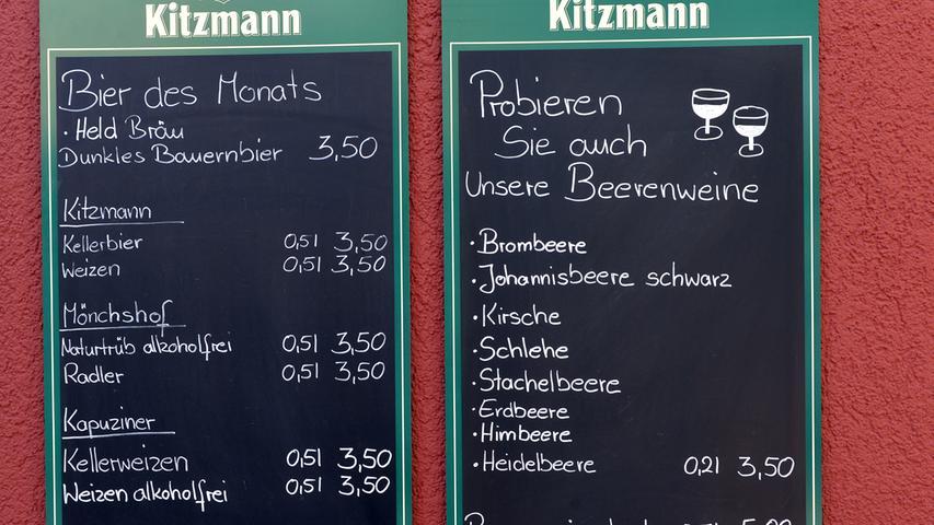 Hubert Nägel konnte zahlreiche Gäste bei der Wiedereröffnung seines Biergartens