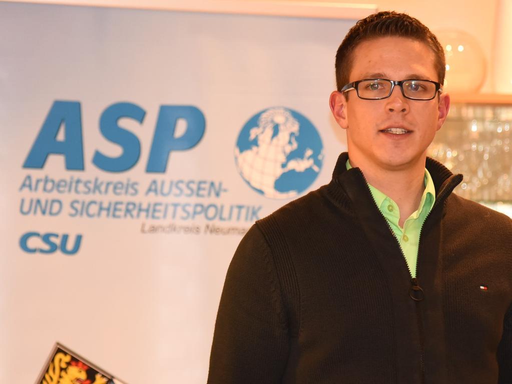 Foto :Sturm Helmut-220119....Gründungsveranstaltung CSU-Arbeitskreis für Außen- und ..Sicherheitspolitik im Landkreis Neumarkt..7647 1. Vorsitzender Stefan Schmid