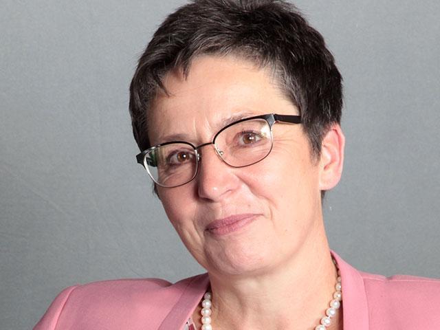 FOTO: 5/2019 v. https://www.afd.de/europawahl-kandidaten/limmer/.. MOTIV: Portrait Dr. Sylvia Limmer, AfD-Kandidat. Europawl.