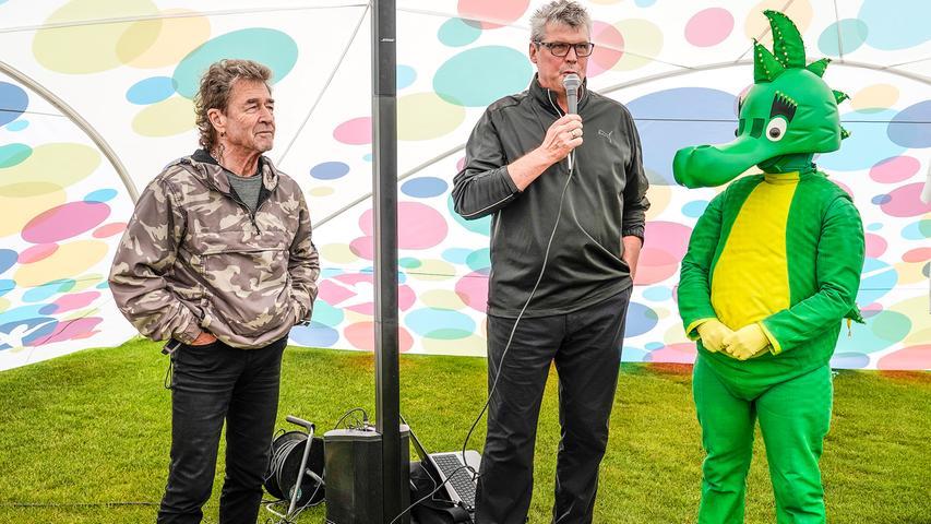 Peter Maffay auf dem Herzogenauracher Golfplatz