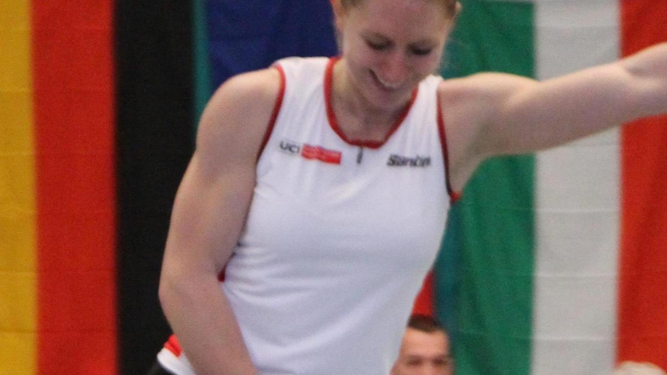 Siegessicher auf den letzten Metern. Mit einem gelösten Lächeln brachte Milena Slupina ihr Programm in Merelbeke zu Ende.