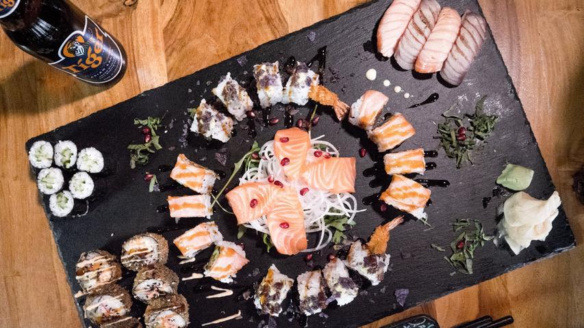 Uservoting 2019: Hier gibt es das beste Sushi der Region