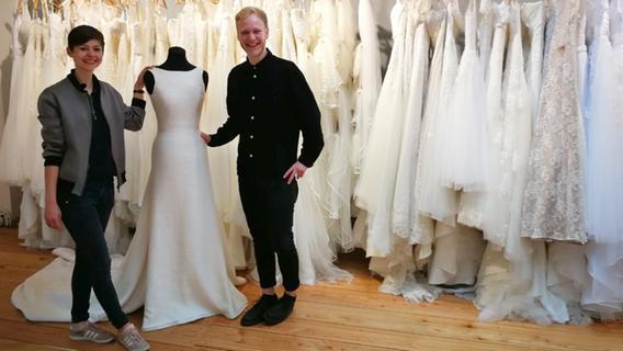 Dieses Brautmoden-Atelier verkauft Secondhand-Kleider ...