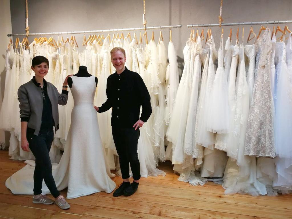 dieses brautmoden-atelier verkauft secondhand-kleider