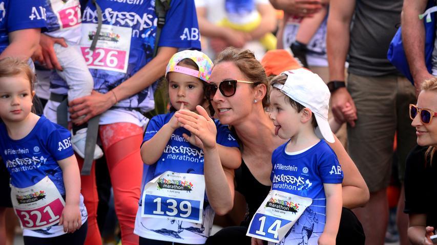 Kleine Läufer auf großer Strecke: Kidsmarathon in Fürth