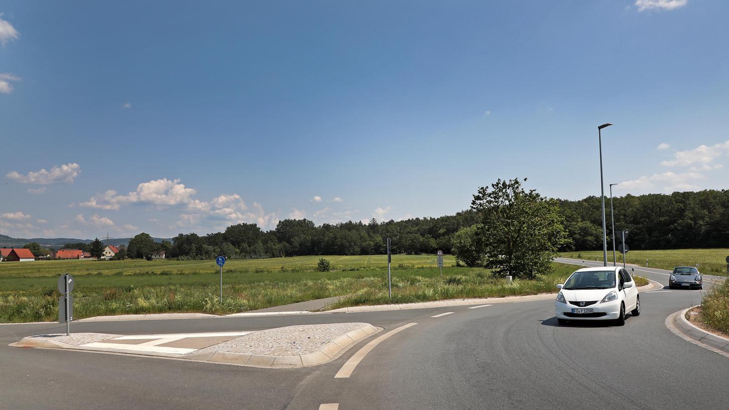 Auf einem 3,5 Hektar großen Areal soll die Baywa am Kersbacher Kreisel neu entstehen.