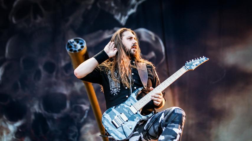 Power-Metal aus Schweden: Sabaton heizen auf der RiP-Bühne ein