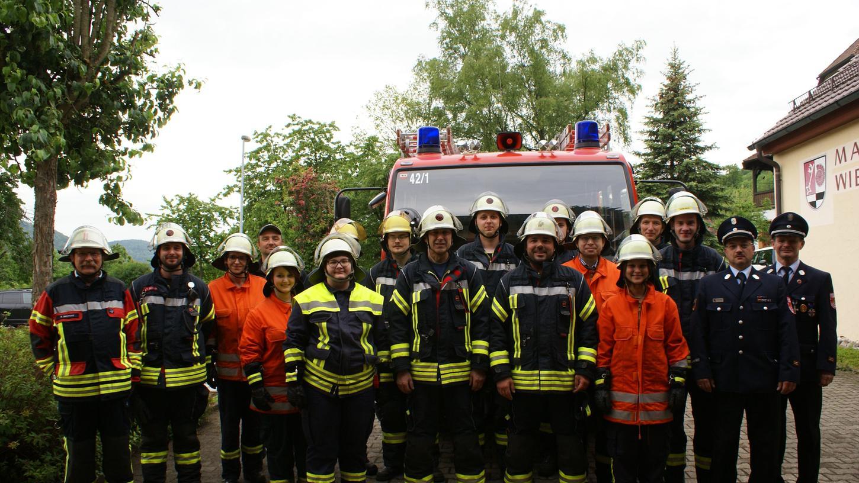 Die Wiesenttaler Feuerwehren haben ihre Prüfung mit Bravour gemeistert.