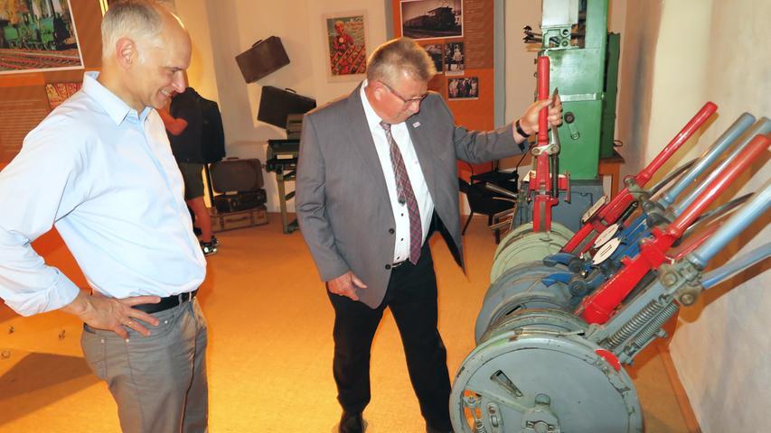 Wiedereröffnung und Eisenbahn-Jubiläum im Treuchtlinger Volkskundemuseum