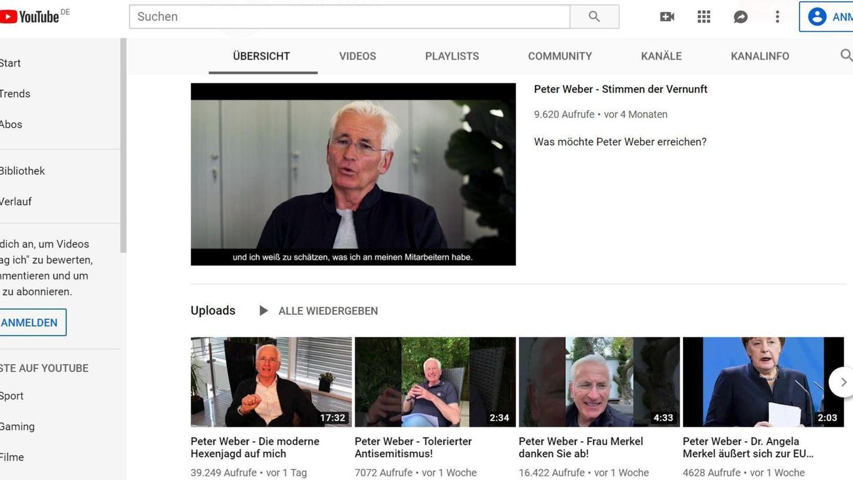 Klaus-Peter Weber ist inzwischen eine viel gehörte Stimme auf Facebook und auf YouTube. Seine Videos, in denen er seine Meinung zu politischen und gesellschaftlichen Fragen äußert, werden von Millionen von Internet-Nutzern angeklickt und geteilt. Nun ist der Bauunternehmer schwer unter Beschuss geraten. Kritiker werfen ihm vor, er würde rechtspopulistische Meinungsmache betreiben.