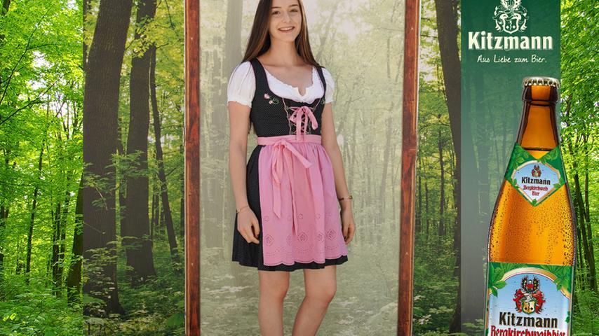 Die Stuttgarterin Marlene Megerle überzeugte in schwarz-rosa Tracht 17 User.