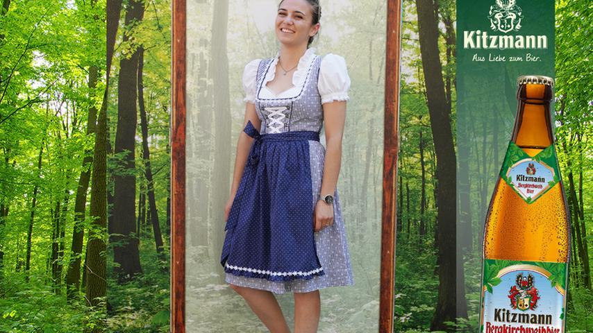 Platz 24. kann Maya Barkan mit blau-weißer Tracht für sich verbuchen.