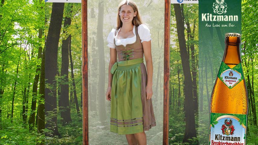 In den Farben des Waldes: Magdalena Cambuli-Kosko erhielt 40 User-Stimmen.