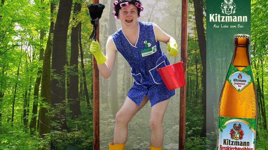 Sein kreatives Outfit verhalf Nils Entrup zu 151 Stimmen und damit Platz 3 in unserem Ranking.