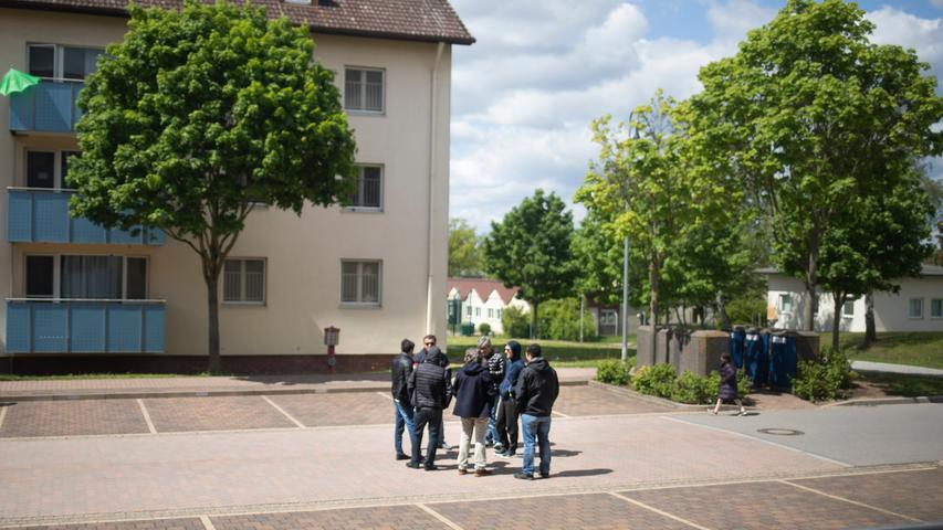 Ankerzentrum Bamberg, Reportage
