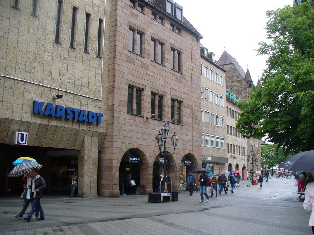 Karstadt Haupthaus Nürnberg FOTO: Verena Litz, Mai 2013