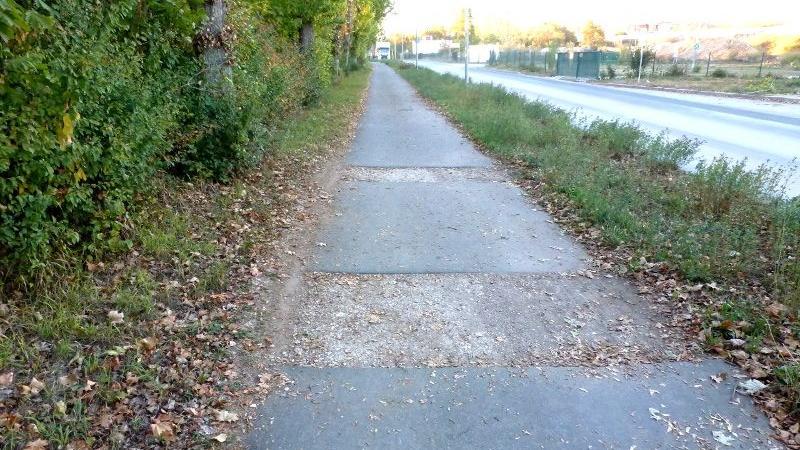Besonders holprig geht es in der Steinbühlstraße zu: Hier wird man als Radfahrer gut durchgeschüttelt.