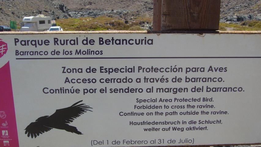 Gesehen in Puertito de Los Molinos auf der spanischen Insel Fuerteventura.