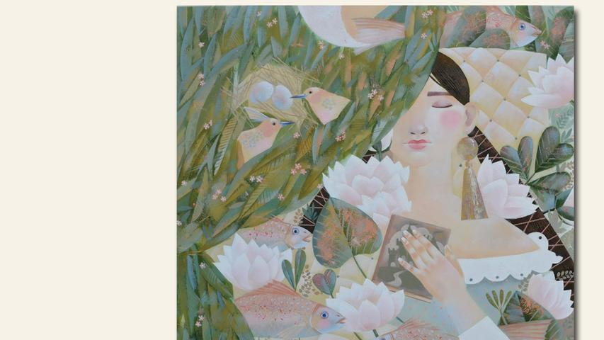 geb. 1990 in Strunino, Russland lebt in Nürnberg Sommertraum (2017) 70 x 70 cm Öl auf Leinwand erstmals im Wettbewerb vertreten