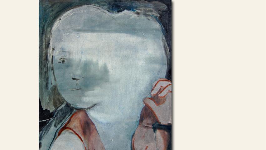 geb. 1989 in Witten lebt in Nürnberg Drift (2019) 40 x 30 cm Öl auf Leinwand ebenfalls gezeigt Head (2019) 24 x 18 cm Öl auf Leinwand