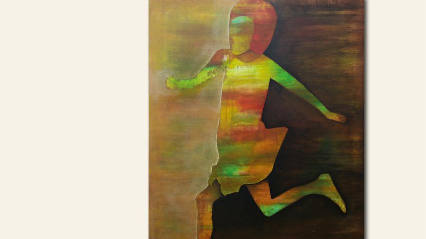 geb.1958 in Hof/Saale lebt in Gesees Border Crossing (2016) 120 x 90 cm Acryl auf Leinwand erstmals im Wettbewerb vertreten